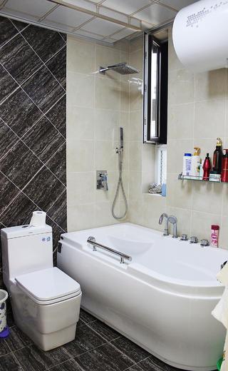 欧式风格装修浴缸图片