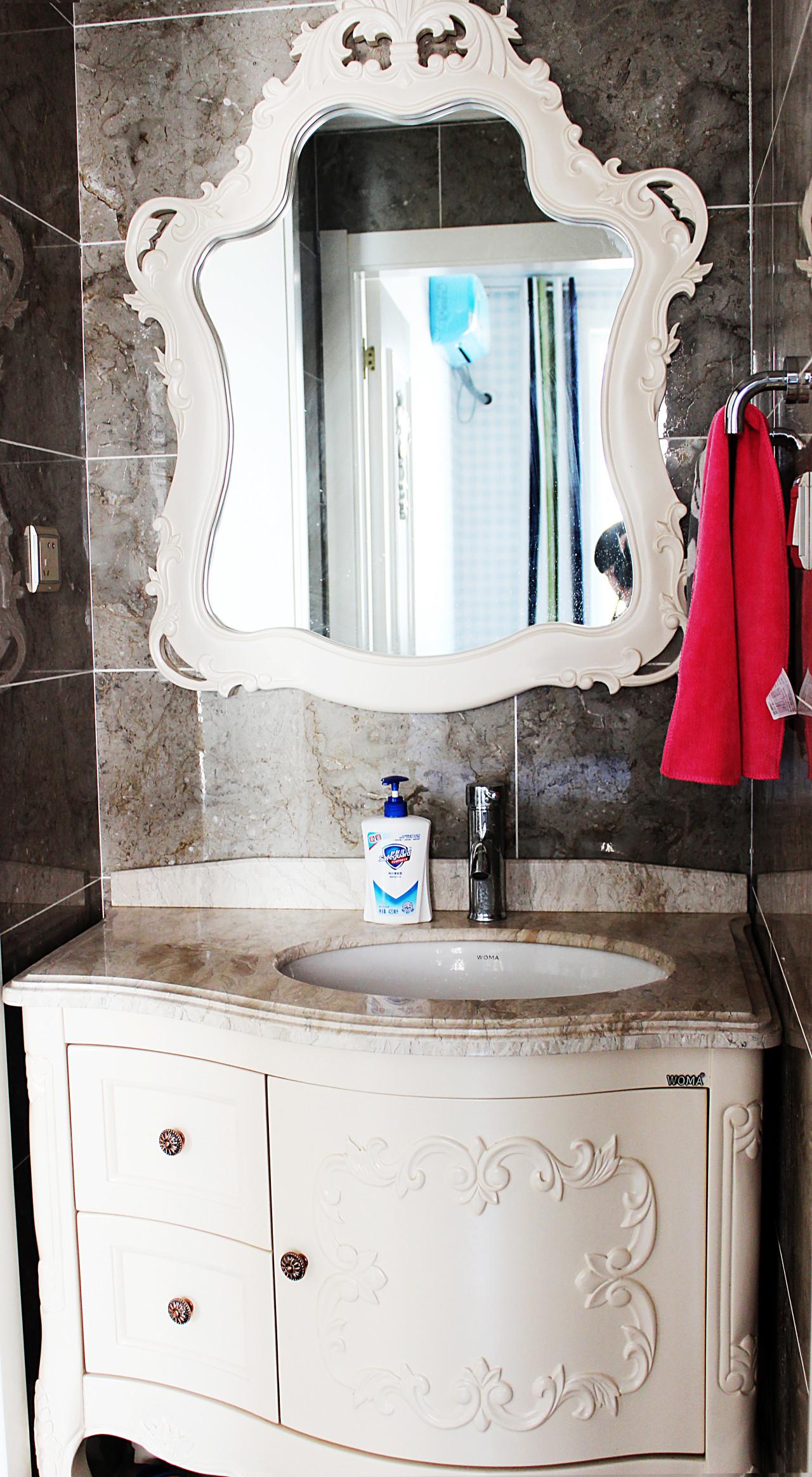 欧式风格装修洗手台图片