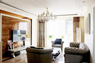 欧式风格装修客厅设计图