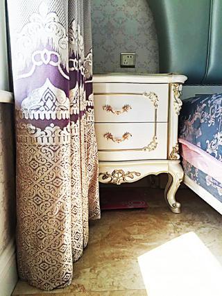 欧式风格装修床头柜图片