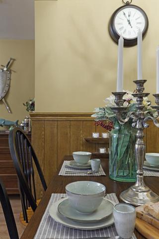 三居室美式装修餐具摆件