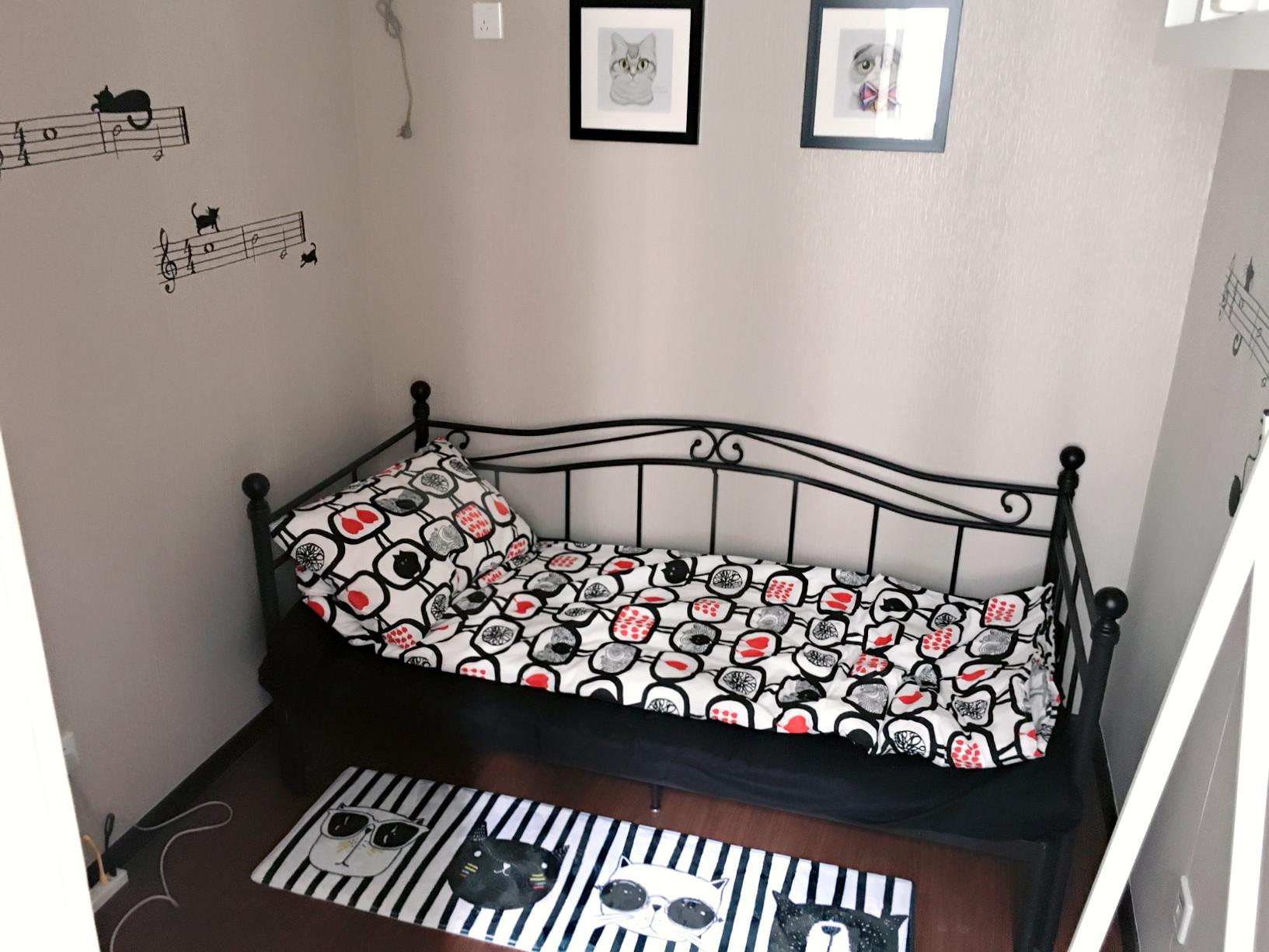 北欧小户型装修沙发床设计