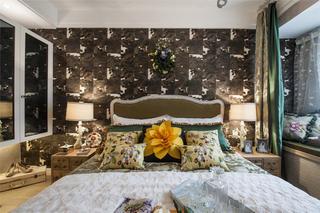 60平小户型设计卧室背景墙图片