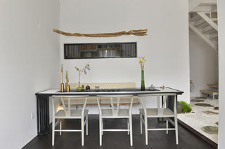 混搭风格工作室设计茶桌背景墙图片