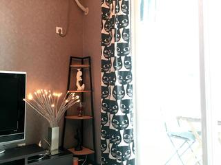 北欧小户型装修窗帘图片