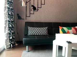 北欧小户型装修沙发图片