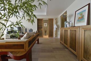三居室中式风格家客厅过道