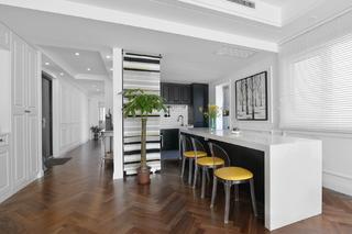 混搭三居之家开放式厨房设计