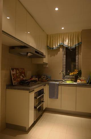 60平小户型设计厨房实景图