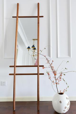 美式混搭三居设计客厅装饰小景