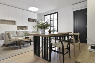 中式二居装修餐桌椅图片