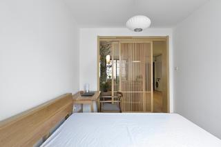中式二居装修卧室效果图