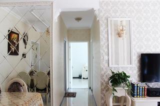 80平欧式风格家走廊图片