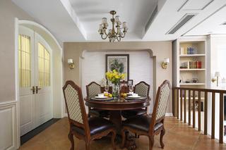 美式风格别墅装修餐厅设计图
