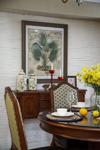 美式风格别墅装修餐边柜图片