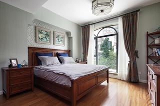 美式风格别墅装修老人房布置图