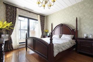 美式风格别墅装修主卧设计图