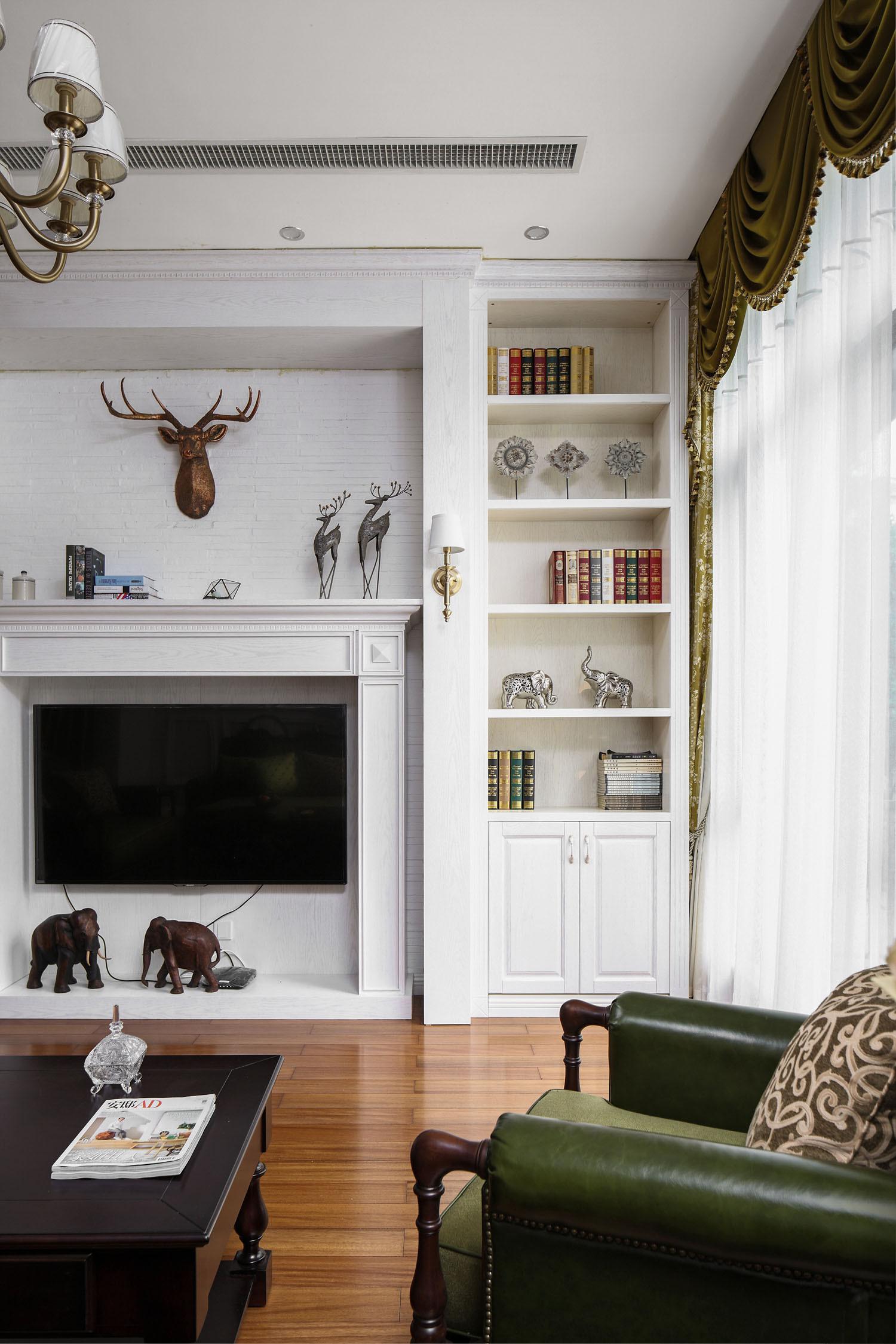 美式风格别墅装修造型壁炉设计
