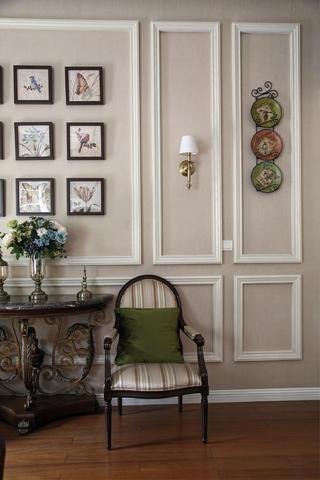 美式风格别墅装修客厅一角