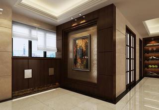 中式别墅装修过道图片
