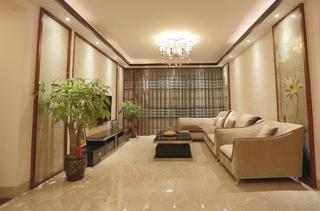 新中式风格三居客厅设计图