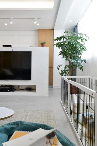 二居室北欧风格家宠物区