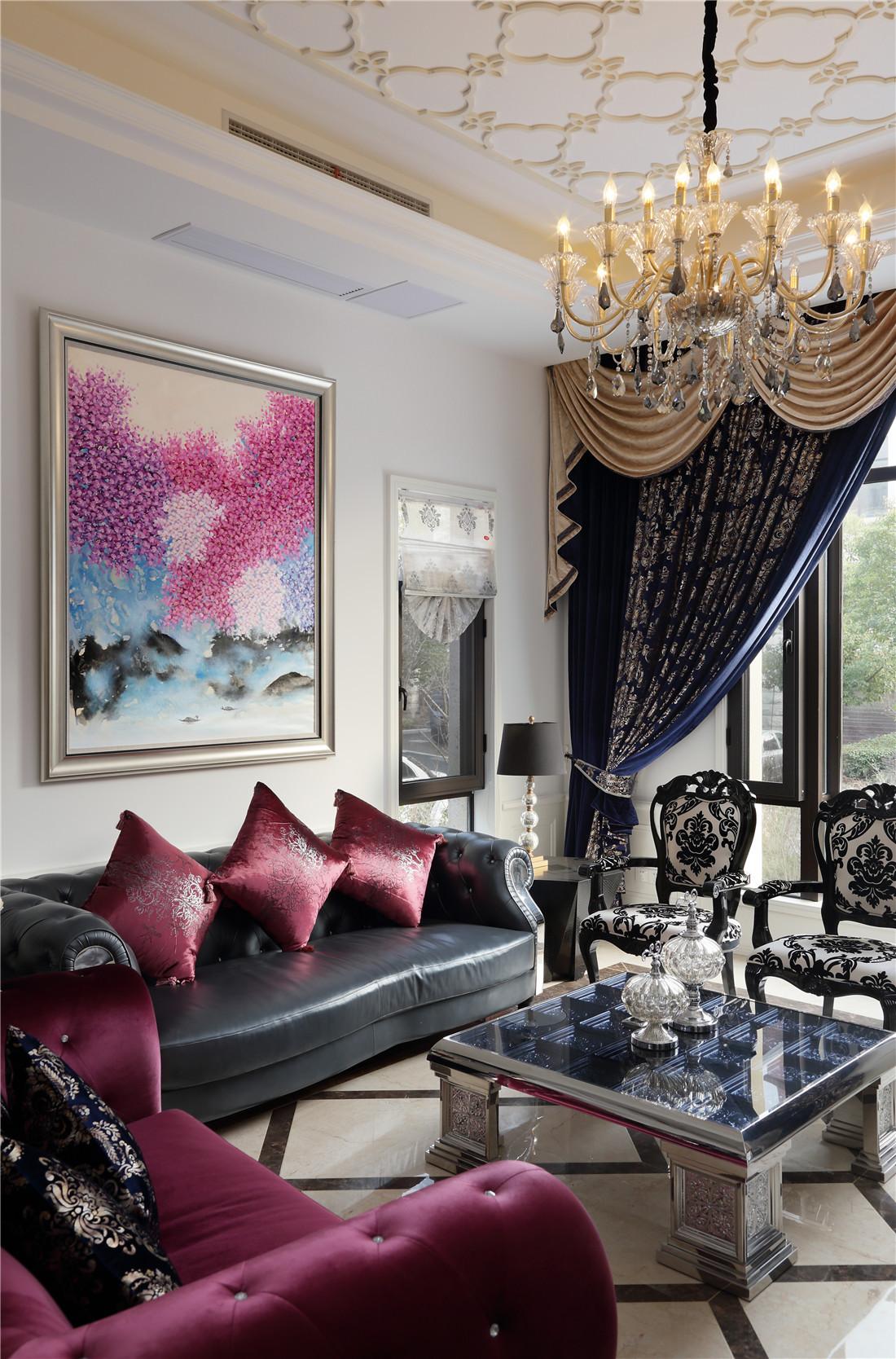 新古典风格别墅装修沙发图片