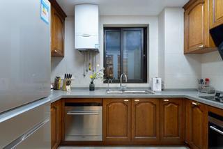 120平中式风格家厨房构造图