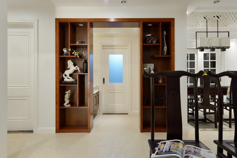 120平中式风格家展示柜图片