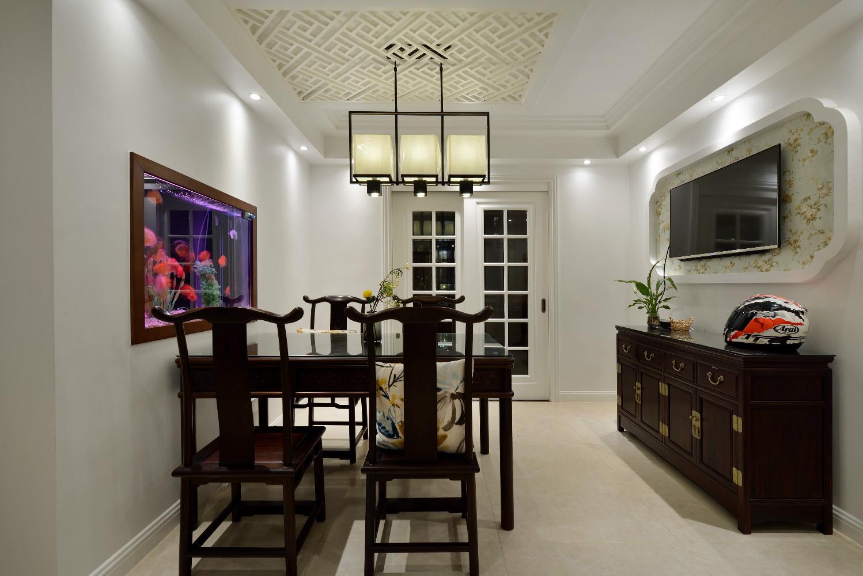120平中式风格家餐厅效果图