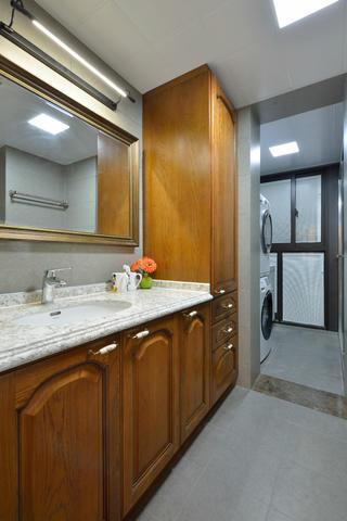 120平中式风格家浴室柜图片