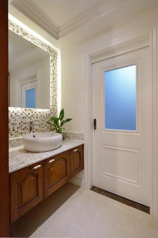 120平中式风格家洗手台图片