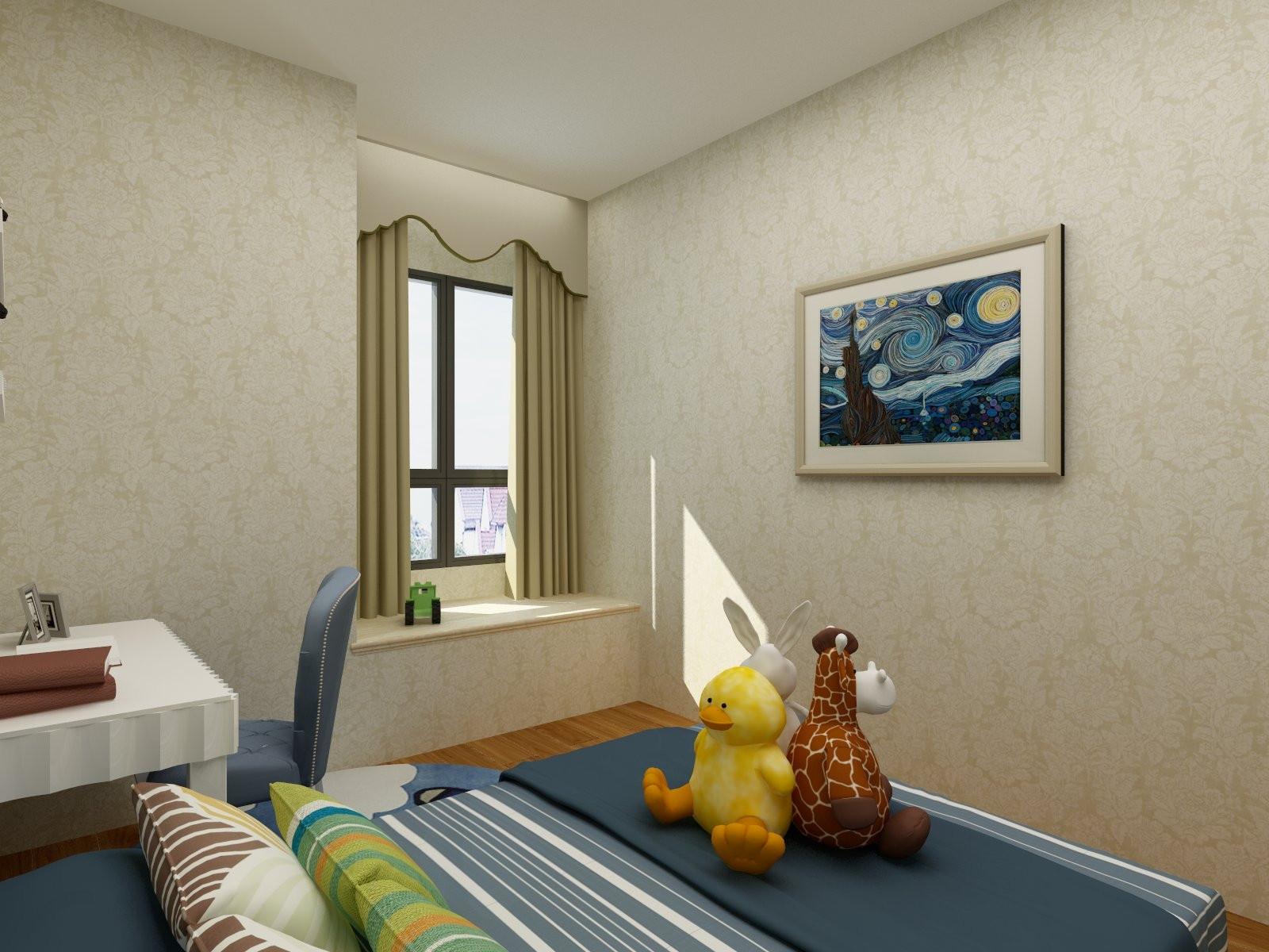 欧式三居装修飘窗图片