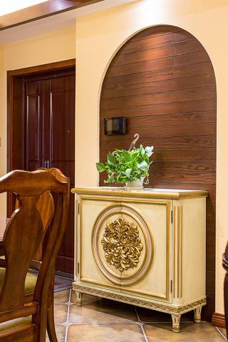 150㎡美式之家玄关柜图片