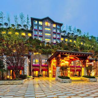 隐于山林的奢华高档酒店装修图片