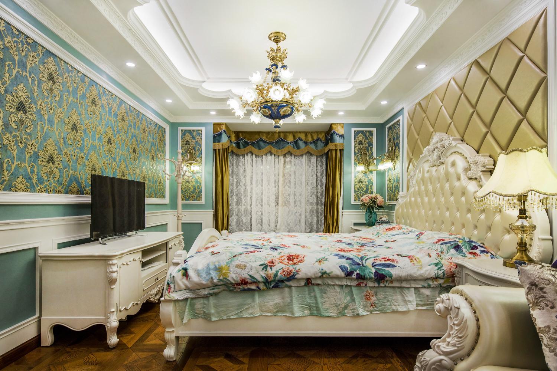 豪华欧式装修卧室设计图