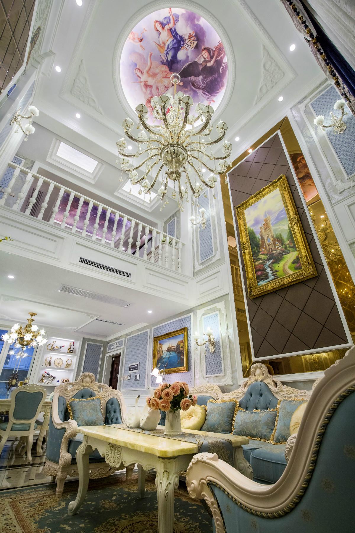 豪华欧式装修客厅设计图
