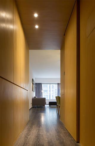 现代简约二居玄关设计