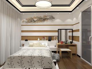 中式别墅装修次卧设计图