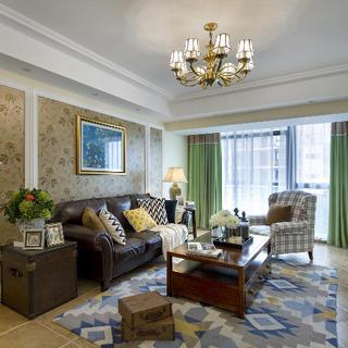 120平三居室装修 温馨小美居