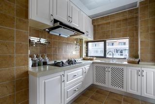 120平三居室装修厨房设计