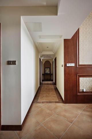 美式复式装修卧室过道