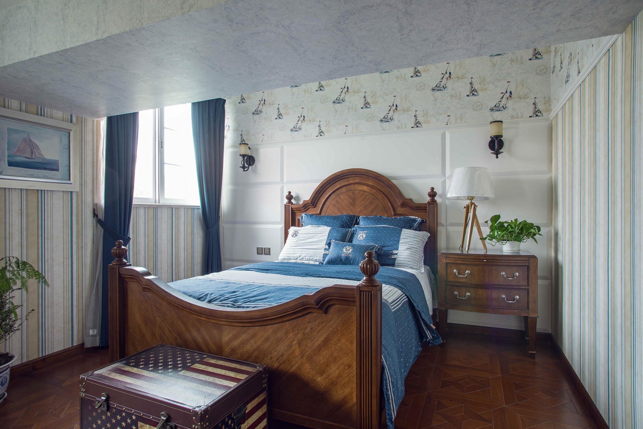大户型经典美式家儿童房效果图