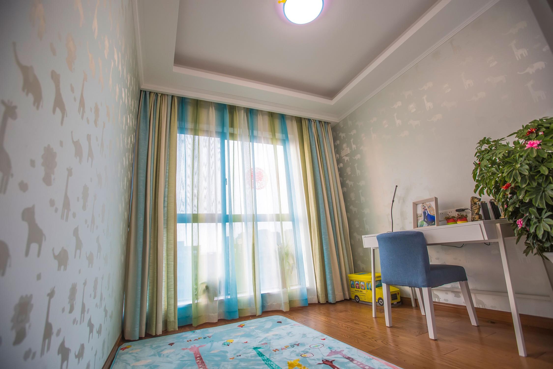 欧式三居装修儿童房设计图