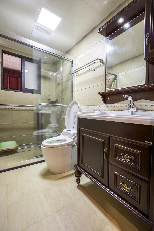欧式风格装修卫生间装潢图