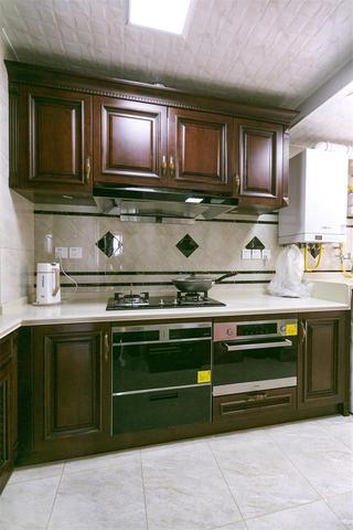 欧式风格装修厨房参考图