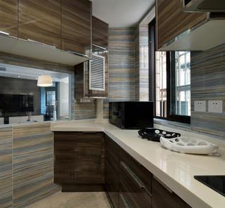 现代简约之家厨房设计图