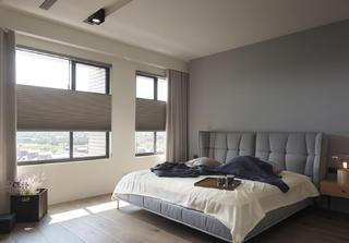 简约风格二居卧室布置图