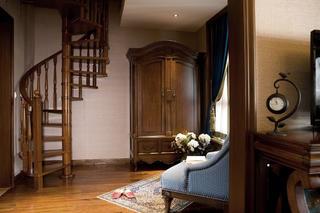 东南亚休闲别墅装修楼梯图片