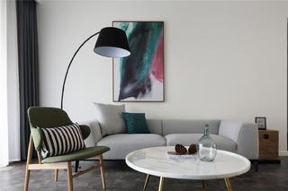 简约四居装修沙发背景墙图片